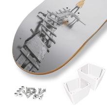 Load image into Gallery viewer, Customizable Skateboard Wall Art-1 Skateboard Wall Art, home decor, make it your own-Northern Treasure