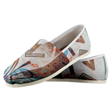 Load image into Gallery viewer, NT-Abstract Women's Casual Slip-on Shoes-Casual shoes, women's, NT-Abstract, footwear-Northern Treasure