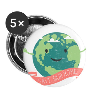 Customizable Buttons small 1'' (5-pack)-Buttons small 1'' (5-pack), make it your own, buttons, accessories-Northern Treasure
