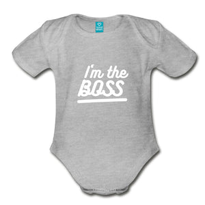 Customizable Organic Short Sleeve Baby Bodysuit-Organic Short Sleeve Baby Bodysuit, make it your own, apparel, baby-Northern Treasure
