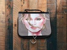 Load image into Gallery viewer, Berlin Take Anywhere Hanging Toiletry Bag - Fashion Wind by AhVero-Ahvero, royalty, travel, accessories-Northern Treasure