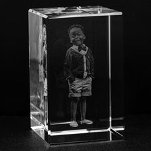 Load image into Gallery viewer, Custom Photo Engraved Crystal Block-Crystal, home decor, make it your own-Northern Treasure