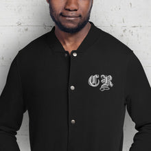 Load image into Gallery viewer, Custom Monogrammed Champion Bomber Jacket-make it your own, jackets, apparel-Northern Treasure