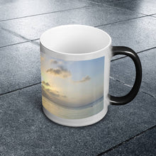 Load image into Gallery viewer, Color Changing Mug - Boating at Sunrise-Accessories , Home decor-Northern Treasure