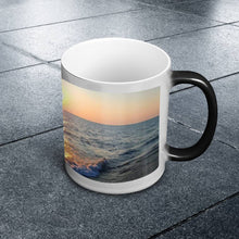 Load image into Gallery viewer, Color Changing Mug - Waves at Sunrise-Accessories , Home decor-Northern Treasure