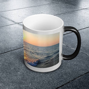 Color Changing Mug - Waves at Sunrise-Accessories , Home decor-Northern Treasure