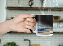 Load image into Gallery viewer, Color Changing Mug - Sunset Beach-accessories, home decor-Northern Treasure