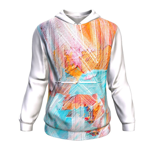 Premium Pullover Hoodie - Abstract Impressions-Hoodie, pullover hoodie, NT-AI-Northern Treasure