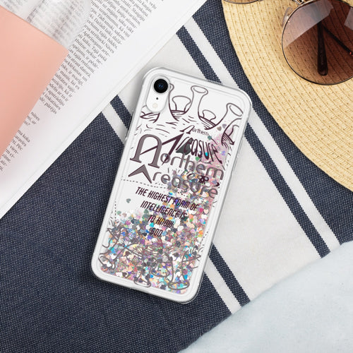 Commemorative Liquid Glitter iPhone Case-accessories, phone case-Northern Treasure