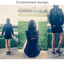 Load image into Gallery viewer, Customizable Women's Hoodie Dress-apparel, tops, Women's Hoodie Dress-Northern Treasure