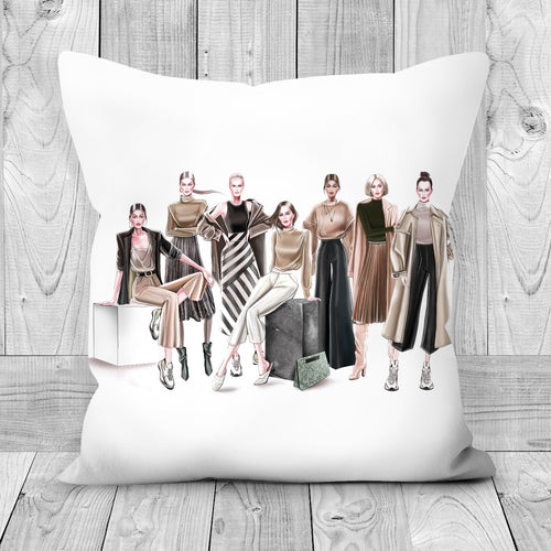 Ready to Wear by AhVero Handmade Poly Linen Cushion Covers with Double Sided Print-home decor, ahvero, royalty-Northern Treasure