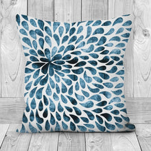 Load image into Gallery viewer, Handmade Poly Linen Cushion Covers With Double Sided Print-home decor, pillows-Northern Treasure