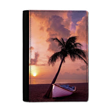 Load image into Gallery viewer, Handmade Passport Cover - Sunset Beach-accessories, travel, cases-Northern Treasure