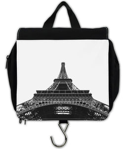 Berlin Take Anywhere Hanging Toiletry Bag - Eiffel Tower-Travel Bag, accessories-Northern Treasure