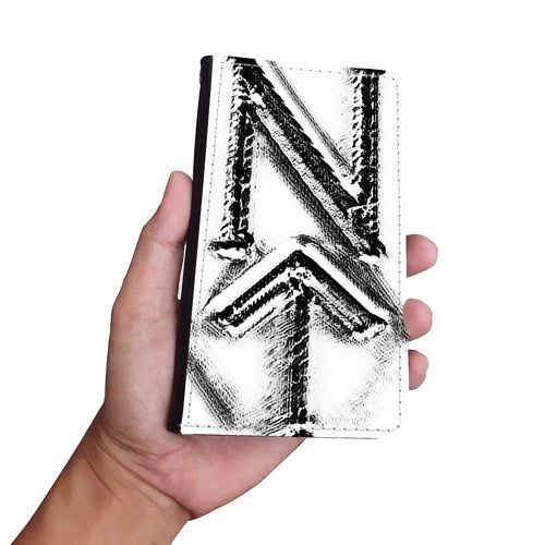 Handmade Wallet Style Phone Case - Phi design-NT-Phi, accessories, wallet cases, phones-Northern Treasure