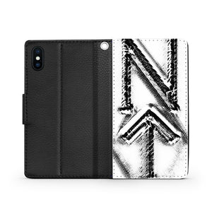 Handmade Wallet Style Phone Case - NT-Phi design-NT-Phi, accessories, wallet cases, phones-Northern Treasure