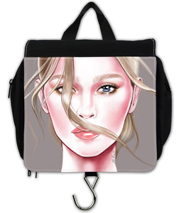 Berlin Take Anywhere Hanging Toiletry Bag - Fashion Wind by AhVero-Ahvero, royalty, travel, accessories-Northern Treasure