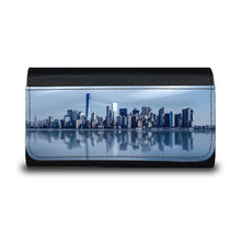 Load image into Gallery viewer, Handmade Sunglasses Case - New York City Skyline-accessories, travel, cases, sunglasses-Northern Treasure