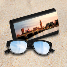 Load image into Gallery viewer, Handmade Sunglasses Case - London England-accessories, travel, cases, sunglasses-Northern Treasure