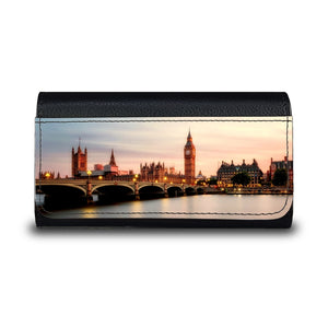 Handmade Sunglasses Case - London England-accessories, travel, cases, sunglasses-Northern Treasure