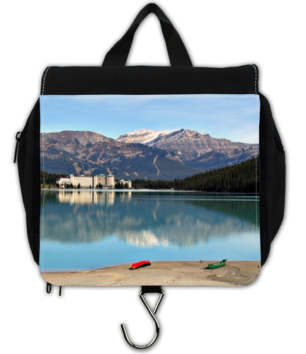 Berlin Take Anywhere Hanging Toiletry Bag - Lake Louise Banff National-Travel Bag, accessories-Northern Treasure