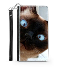 Load image into Gallery viewer, Handmade Wallet Style Phone Case - Scaredy-cat-Accessories, Wallet Case, phone case-Northern Treasure