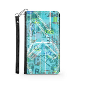 Handmade Wallet Style Phone Case - Psi design-NT-Psi, accessories, phones, wallet cases-Northern Treasure