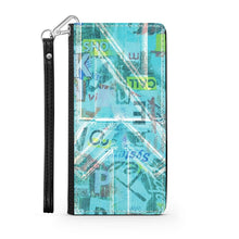 Load image into Gallery viewer, Handmade Wallet Style Phone Case - Psi design-NT-Psi, accessories, phones, wallet cases-Northern Treasure
