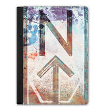 Load image into Gallery viewer, iPad Pro Handmade Folding Tablet Case - NT-Abstract design-accessories, NT-Abstract, cases, tablets-Northern Treasure
