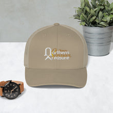 Load image into Gallery viewer, Embroidered Retro Trucker Cap-accessories, hats-Northern Treasure