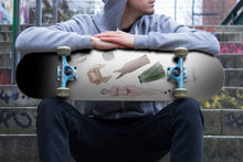 Load image into Gallery viewer, Fashion Game by Ahvero Custom Designed Skateboard / Wall Art-1 Skateboard Wall Art, ahvero, royalty-Northern Treasure
