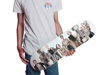 Load image into Gallery viewer, Fashion Party by AhVero Custom Designed Skateboard Wall Art-1 Skateboard Wall Art, ahvero, royalty, home decor-Northern Treasure
