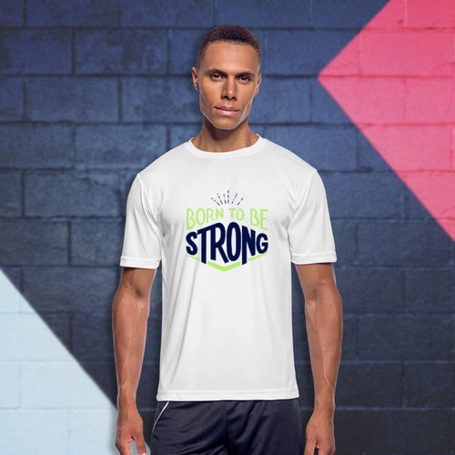 Customizable Men's Moisture Wicking Performance T-Shirt-Men's Moisture Wicking Performance T-Shirt-Northern Treasure