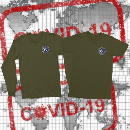 Long Sleeve + Short Sleeve Military Shirts-T-shirt, apparel-Northern Treasure
