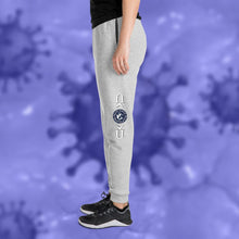 Load image into Gallery viewer, Covid-19 Customizable Unisex Joggers-apparel, make it your own, pants-Northern Treasure