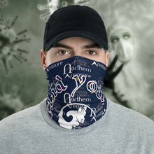 Load image into Gallery viewer, The New Coronavirus Neck Gaiter-Accessories, Cat couture, face mask, Royalty-Northern Treasure