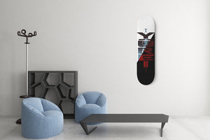 Yurei R&B by WAVELOOP Custom Designed Skateboard Wall Art-1 Skateboard Wall Art, waveloop, royalty-Northern Treasure