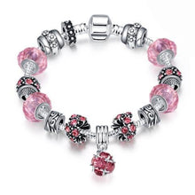 Load image into Gallery viewer, 50 Shades of Color Pandora Inspired Swarovski Bracelet-Bracelet, jewellery, accessories-Northern Treasure