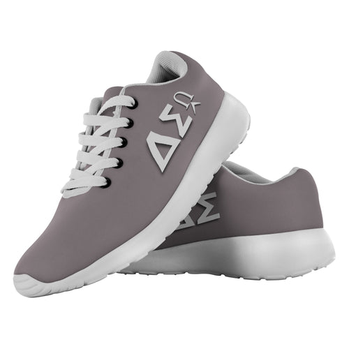 Delta Sigma Running Shoes - Warm Stone-Shoes, running shoes, footwear-Northern Treasure