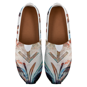 NT-Abstract Women's Casual Slip-on Shoes-Casual shoes, women's, NT-Abstract, footwear-Northern Treasure