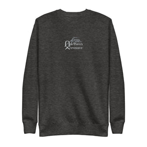 Embroidered Unisex Fleece Lined Sweatshirt-apparel, shirt, unisex-Northern Treasure