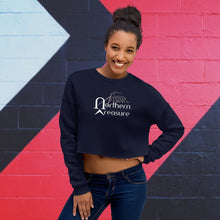 Load image into Gallery viewer, Customizable Women's Fleece Crop Sweatshirt-apparel, tops, make it your own-Northern Treasure
