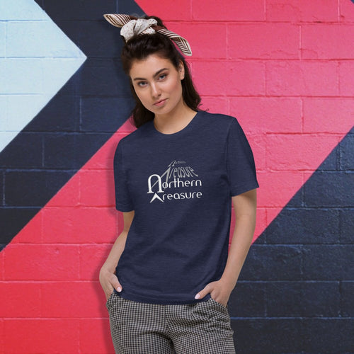 Customizable Unisex Organic Cotton T-Shirt-apparel, make it your own, top-Northern Treasure
