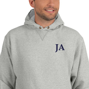 Custom Monogrammed Champion Hoodie-apparel, make it your own, hoodie, tops-Northern Treasure