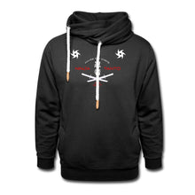 Load image into Gallery viewer, Customizable Unisex Ninja Hoodie-Shawl Collar Hoodie, apparel, make it your own-Northern Treasure