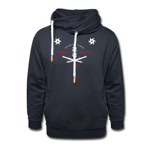 Customizable Ninja Hoodie-Shawl Collar Hoodie, apparel, make it your own-Northern Treasure