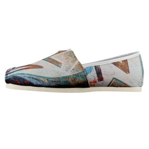 Abstract Women's Casual Slip-on Shoes-Casual shoes, women's, NT-Abstract, footwear-Northern Treasure