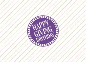 HGB Mini Purple Card