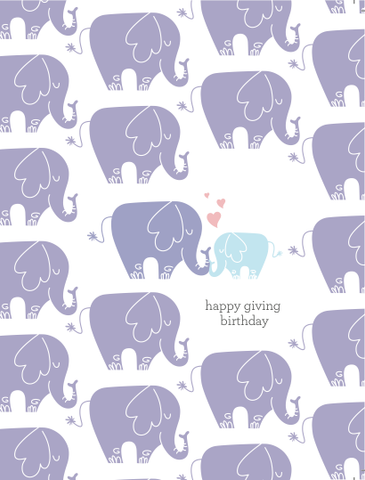 HGB Elephant Card
