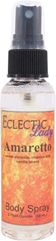 Amaretto Body Spray, 2 Ounces